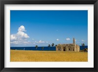 Framed Cyprus, Karpas peninsula, Ayios Thyrsos church