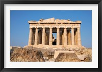 Framed Parthenon, Ancient Architecture, Acropolis, Athens, Greece