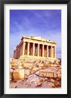 Framed Parthenon on Acropolis, Athens, Greece