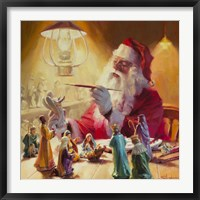 Framed Santa More Than Toys