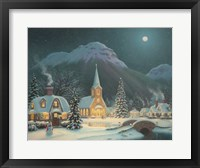 Starlight Path Framed Print