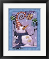 Framed Snowman Juggle