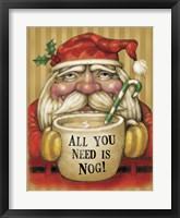 Framed Santa Mug