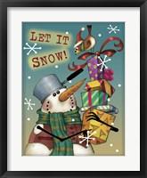 Framed Panhead Snowman