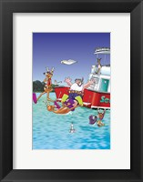 Divers Framed Print