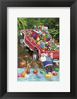 4WD Fun Framed Print