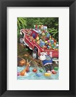 4WD Fun Framed Print