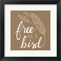 Framed Free as a Bird