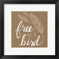 Framed Free as a Bird