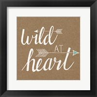 Framed Wild at Heart