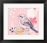 Framed Sparrow I