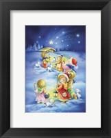 Framed Little Shepherds Christmas Stroll
