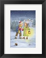Framed Christmas Gift Exchange