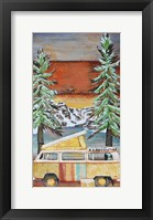 Framed Wilderness Lodge