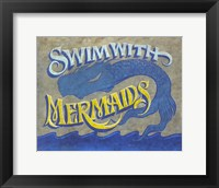 Framed Swim with Mermaids