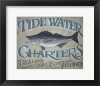 Framed Tidewater Charters