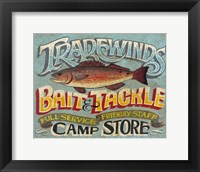 Framed Tradewinds Bait & Tackle
