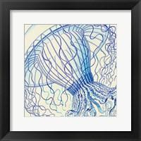 Vintage Jellyfish II Framed Print