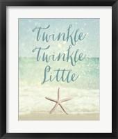Framed Twinkle Twinkle Little Star(fish)