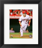 Framed Mike Trout 2015 Action
