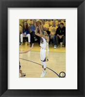 Framed Stephen Curry Game 5 of the 2015 NBA Finals