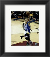 Framed Stephen Curry Game 6 of the 2015 NBA Finals