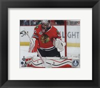 Framed Corey Crawford Game 3 of the 2015 Stanley Cup Finals