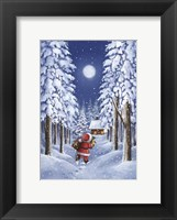 Framed Santa's Trail