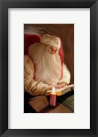 Framed Santa's Tale By Candelight