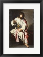 Framed Saint John the Evangelist