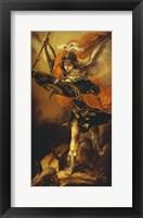 Framed Saint Michael