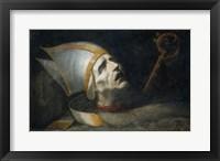Framed Saint Fulgenzio