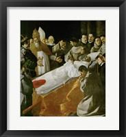 Framed Death of Saint Bonaventura, 1627