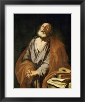 Framed Saint Peter Penitent