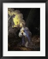 Framed Christ in the Garden of Gethsemane
