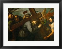 Framed Christ Carrying the Cross, c. 1630