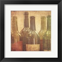 Framed Wine Vignette I
