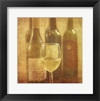 Framed Wine Vignette III