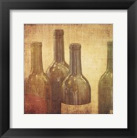 Framed Wine Vignette IV