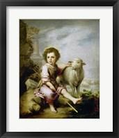 Framed Good Shepherd, around 1665.