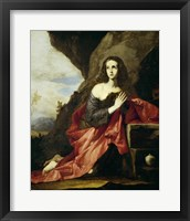 Framed Saint Mary Magdalen or Saint Tais, 1641
