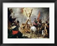 Framed Martyrdom of Saint Andrew
