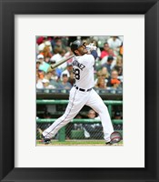 Framed J.D. Martinez 2015 Action