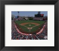 Framed Angel Stadium of Anaheim 2015
