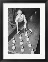 Framed Bowling Alley, 1936