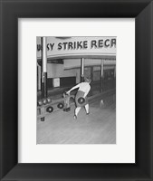 Framed Lucky Strike