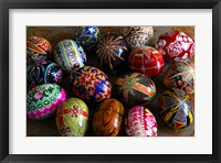 Framed Easter Eggs