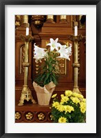 Easter Altar Framed Print