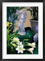 Easter Angel Framed Print