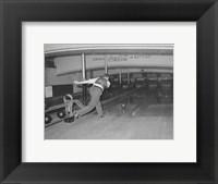 Framed Lucky Strike Bowling
